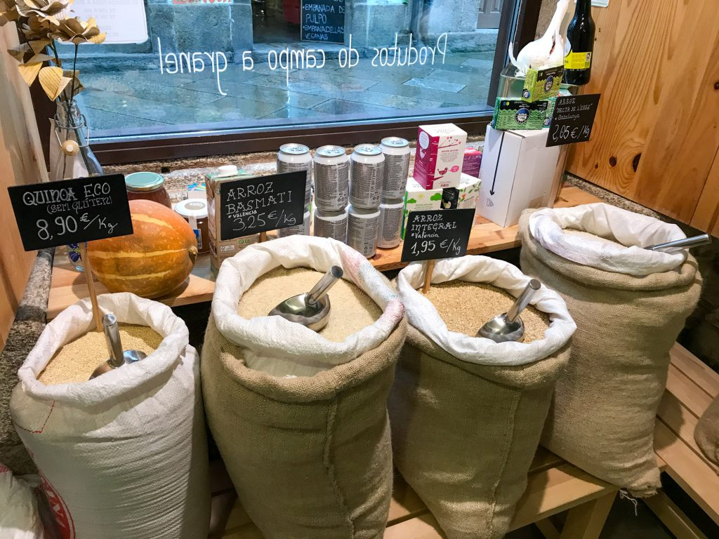 Legumia Zero Waste unverpackt Laden in Santiago de Compostela