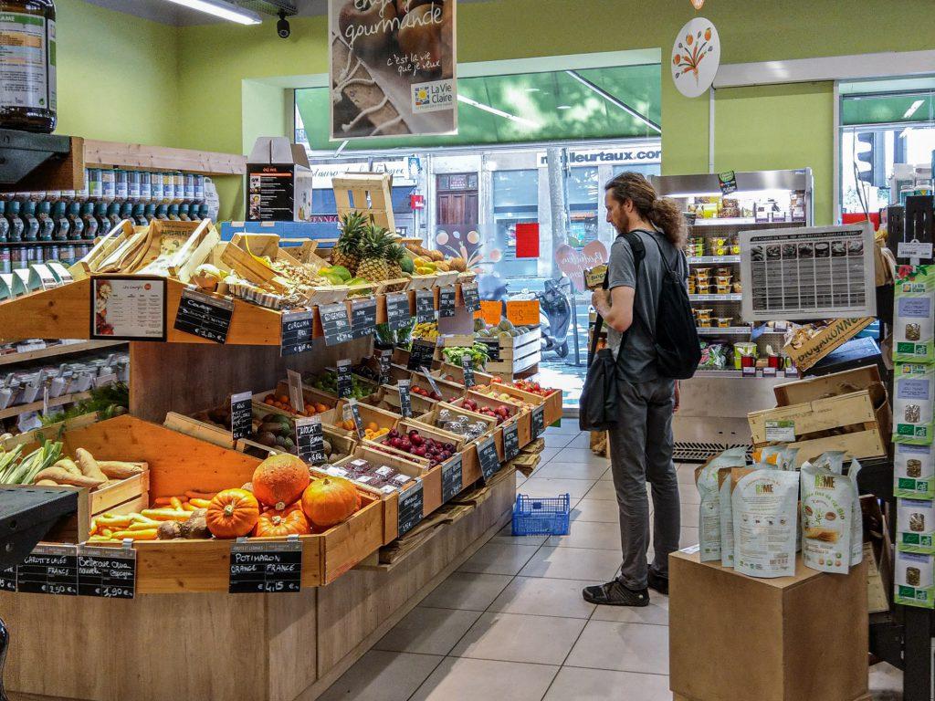 La Vie Claire Bioladen in Lyon