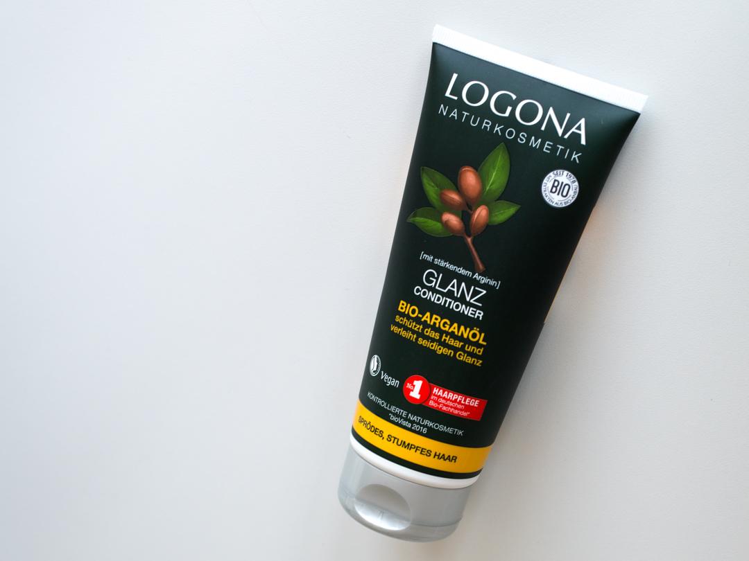 Кондиционер для блеска волос с био-аргановым маслом Logona