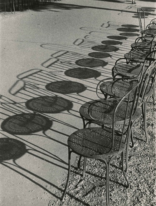 loves Andre Kertesz, Chairs of Paris, Champs-Elysees
