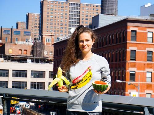 missionieren vegan veganer vegane essen wassermelone mais new york andy warhol