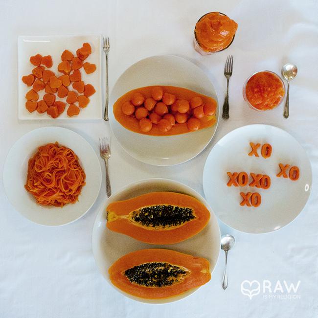 papaya mono meal