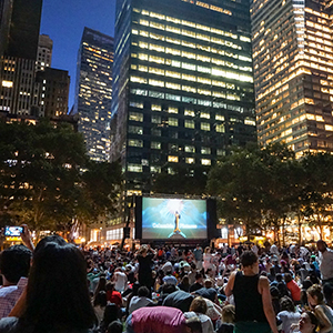 movie night loves nyc