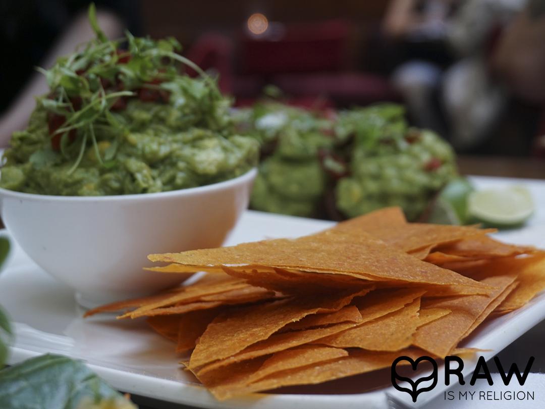 nachos pure food and wine nyc raw vegan