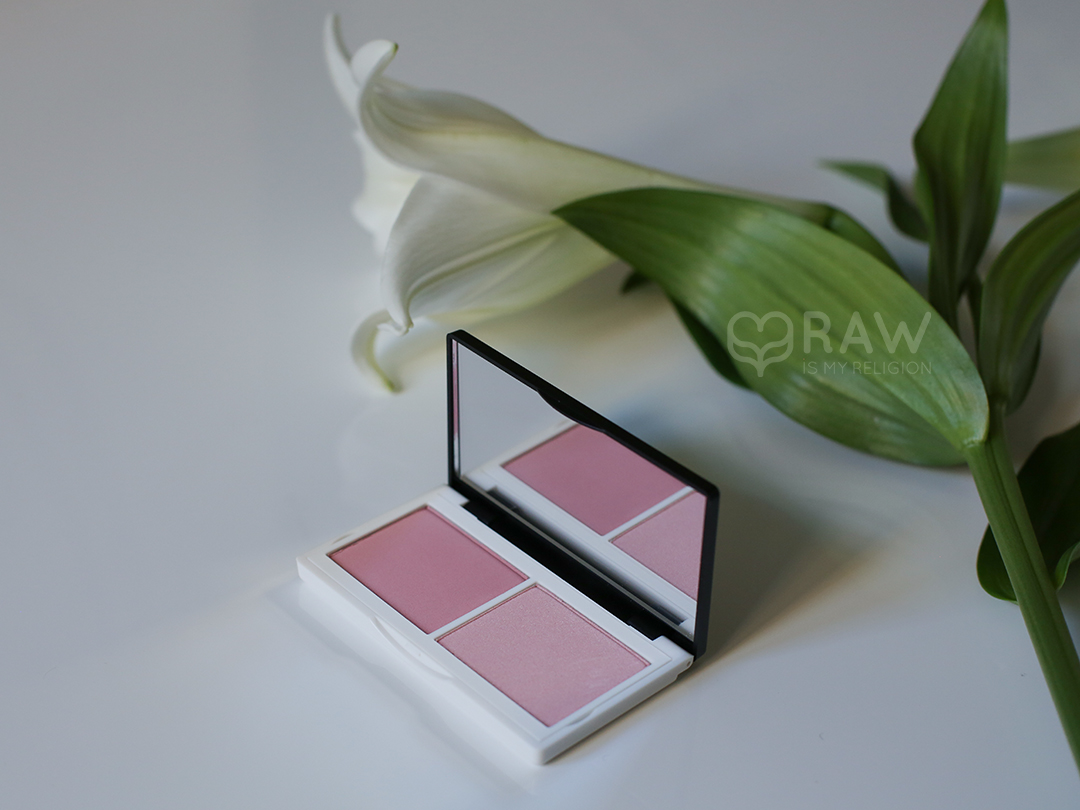 naked pink cheek duo  blush compact Matte Soft Pink