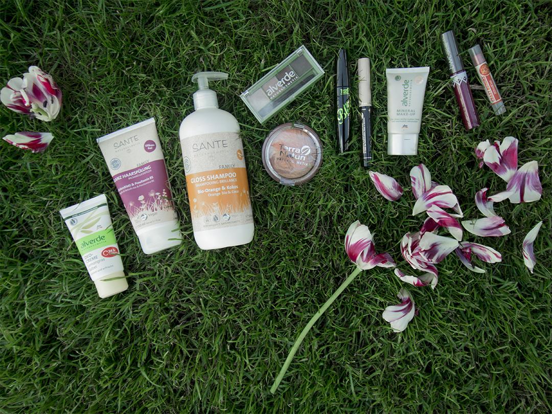 naturkosmetik neue Produkte gekauft
