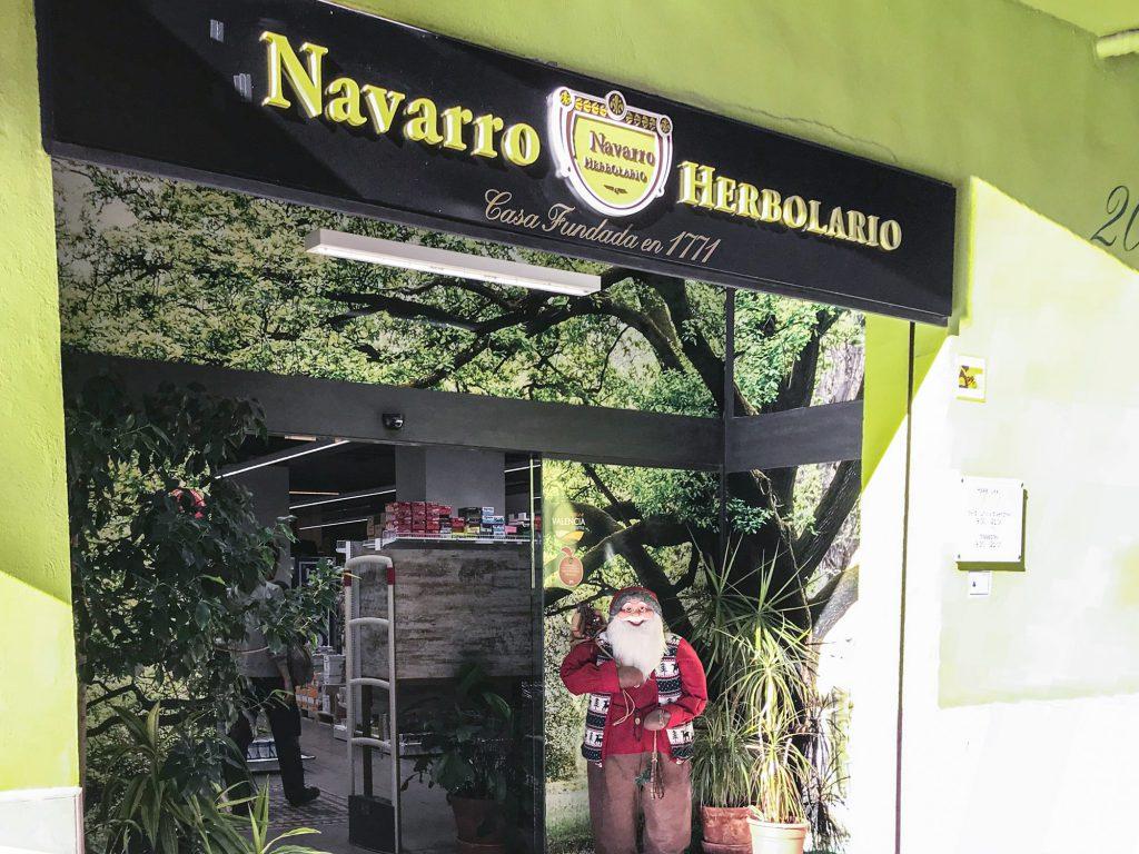 Herbolario Navarro Valencia