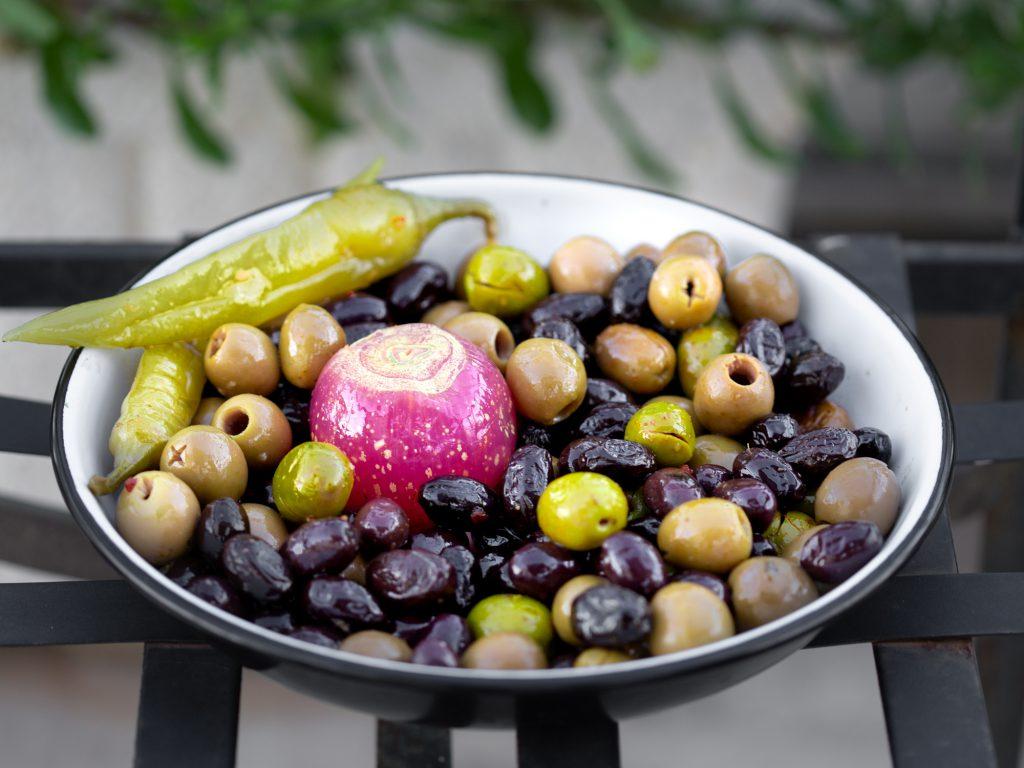 rohkost oliven rezepte
