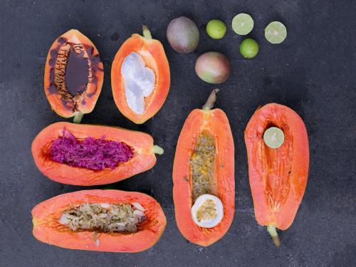 papaya eating combining recipe sauerkraut passionfruit