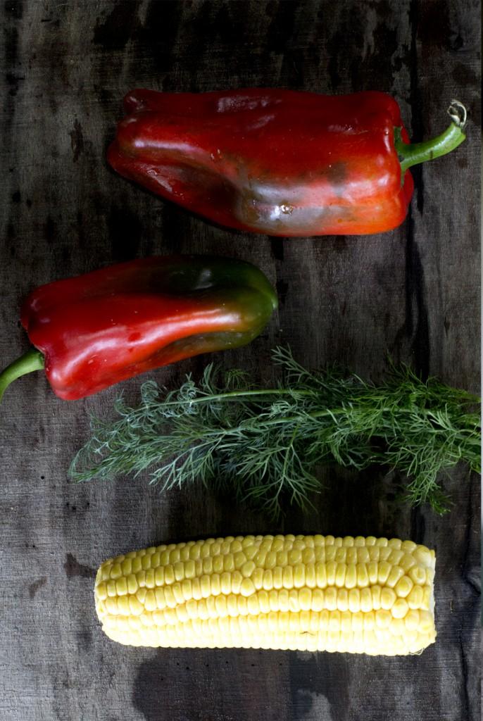 Paprika Sauce Rohkostnudeln Gurkennudeln vegane Sauce