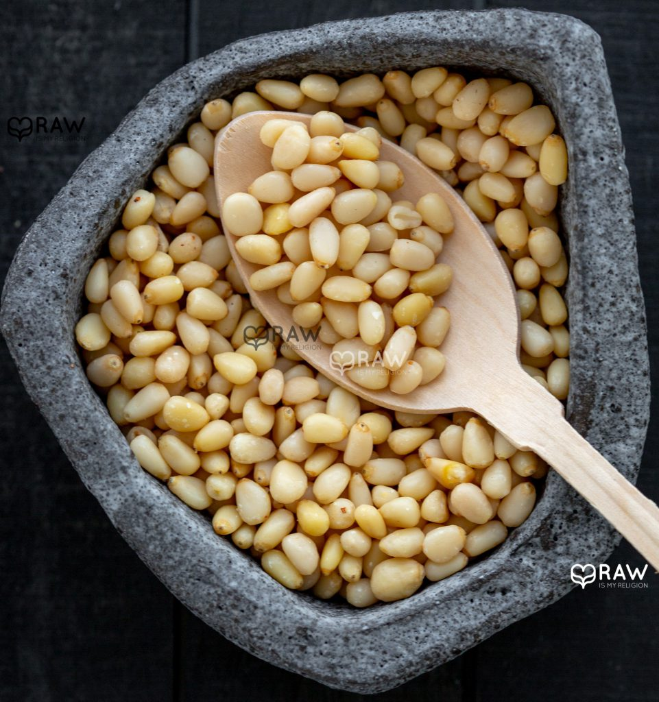 pine nuts raw vegan recipes with organic pine nuts