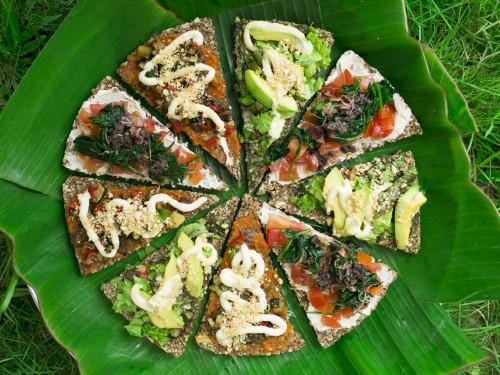 pizza raw vegan bali seeds of life