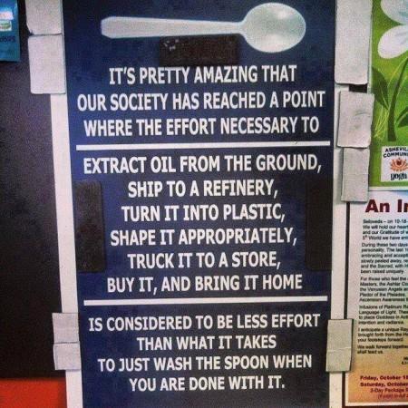 plastic spoons gross