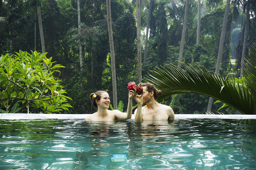 pool new year ubud bali