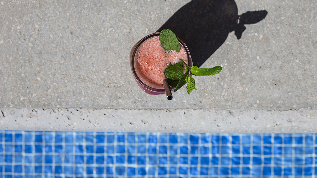 pool smoothie watermelon