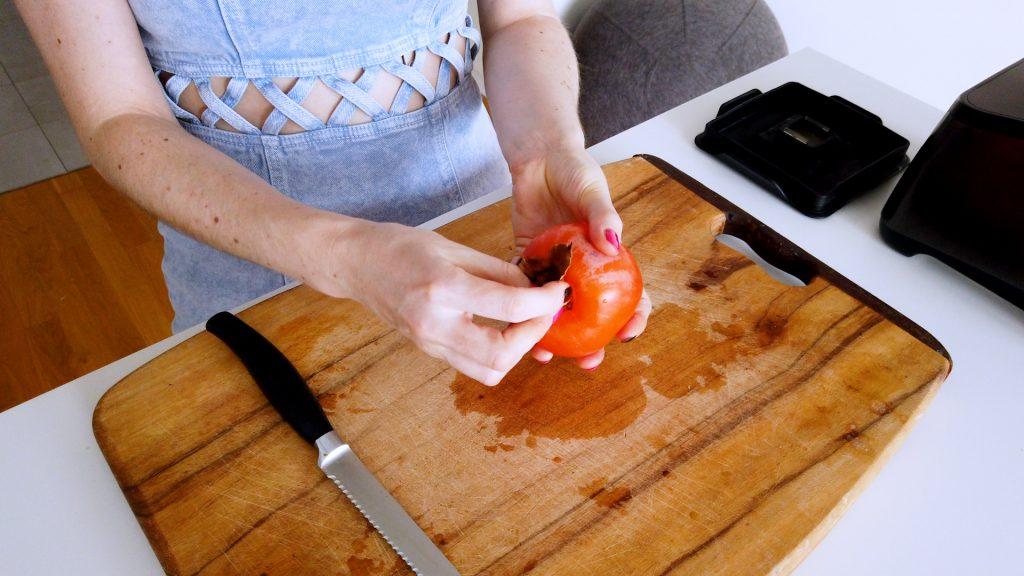 Veganer rohkost Pudding.
