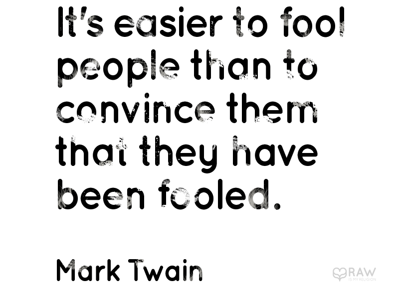 quote fooled mark twain copy