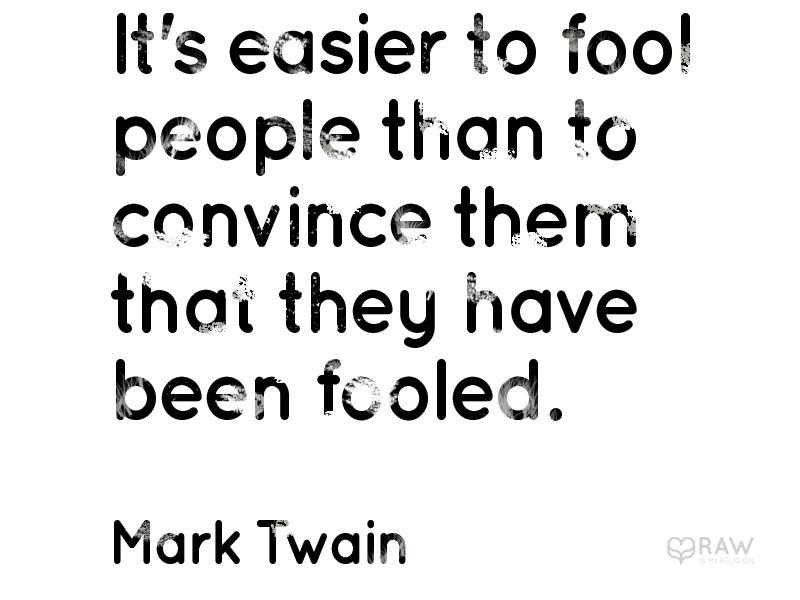 quote fooled mark twain copy