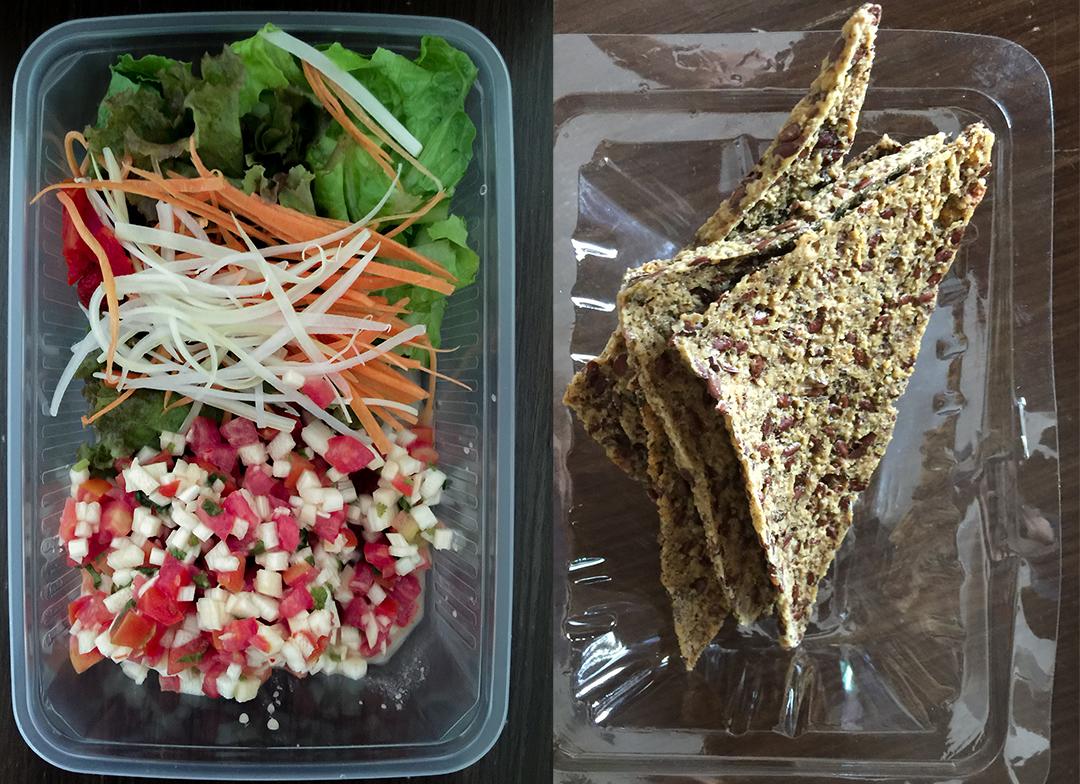 raw tacitos rasayana retreat thailand raw food
