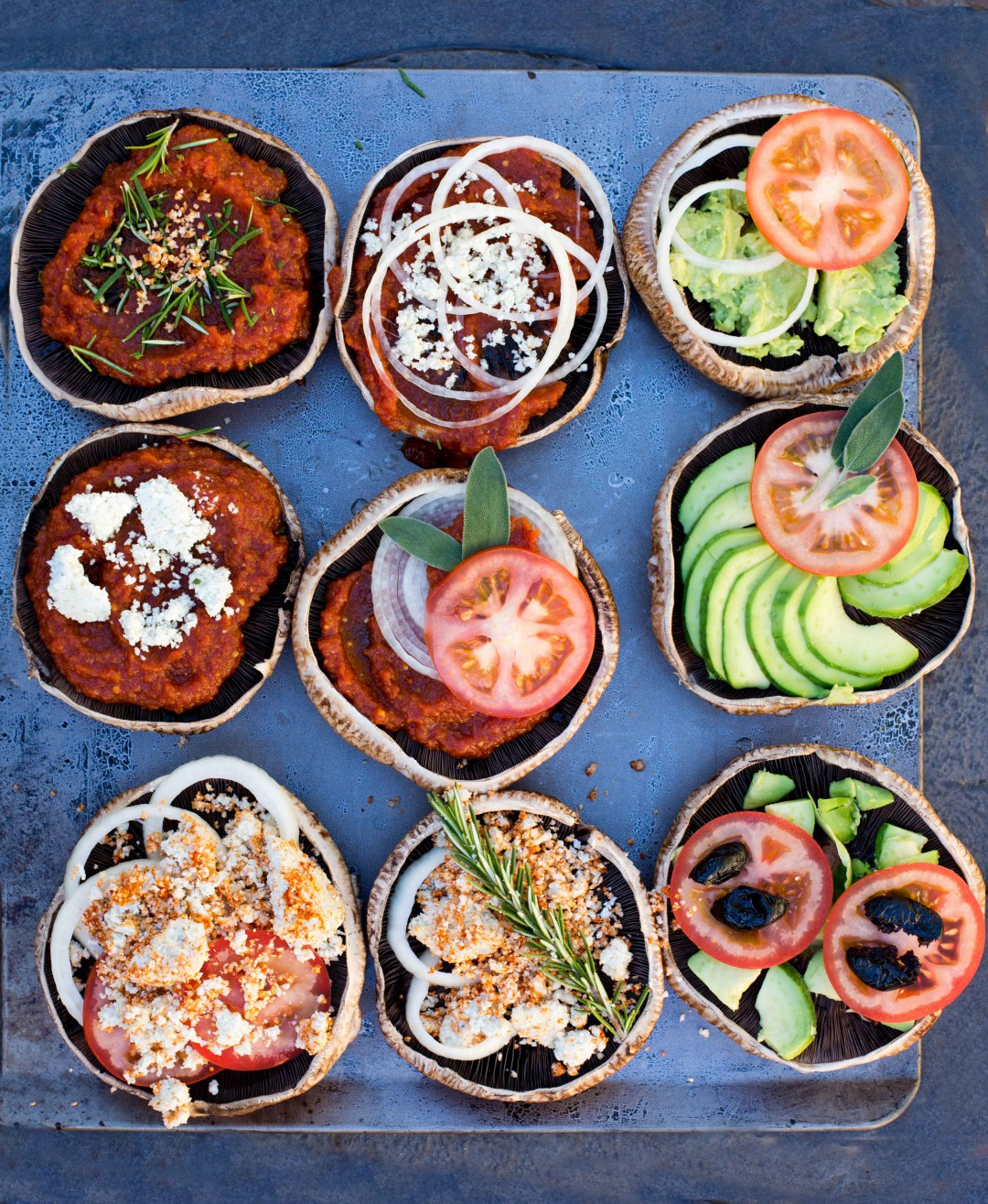Mini Pizzas | Raw, Vegan