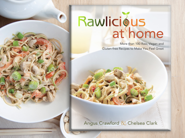 rawlicious at home recipe book