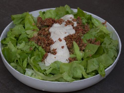 salad taco ranch recipe