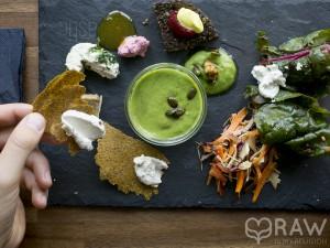 sampler plate rawastic berlin raw vegan restaurant