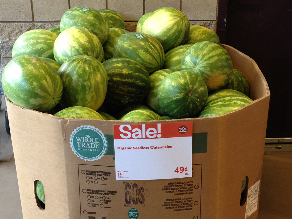 san diego wholefoods watermelons