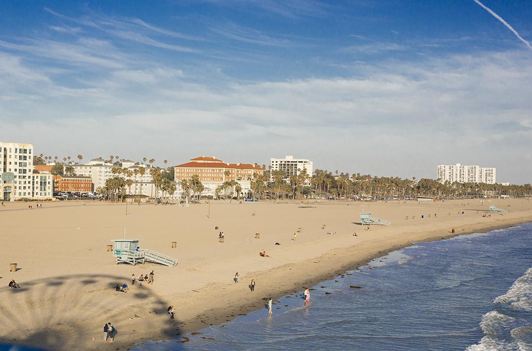 santa monica beach wheal