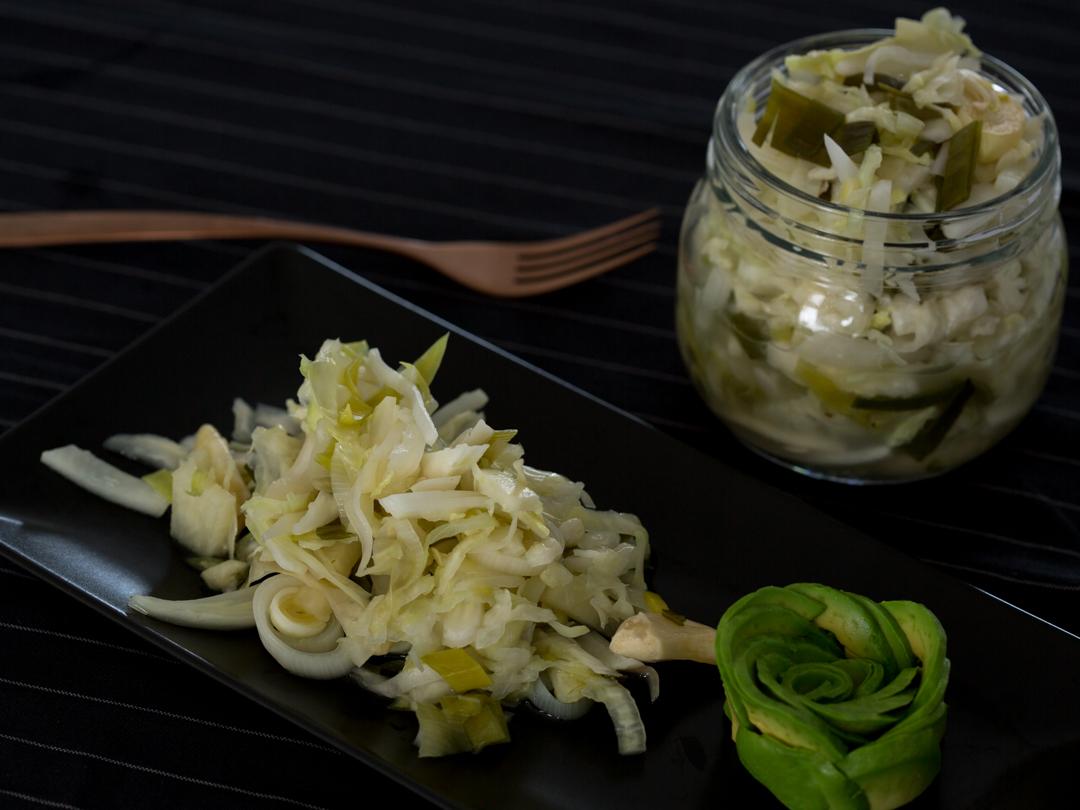 sauerkraut kimchi style