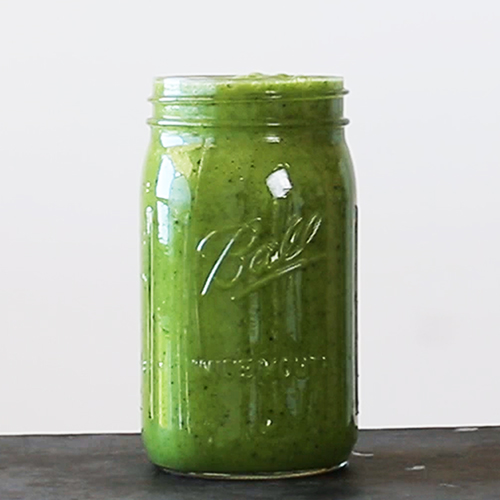 smoothie kale maracuja