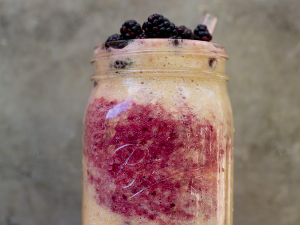smoothie recipe raw food vegan organic