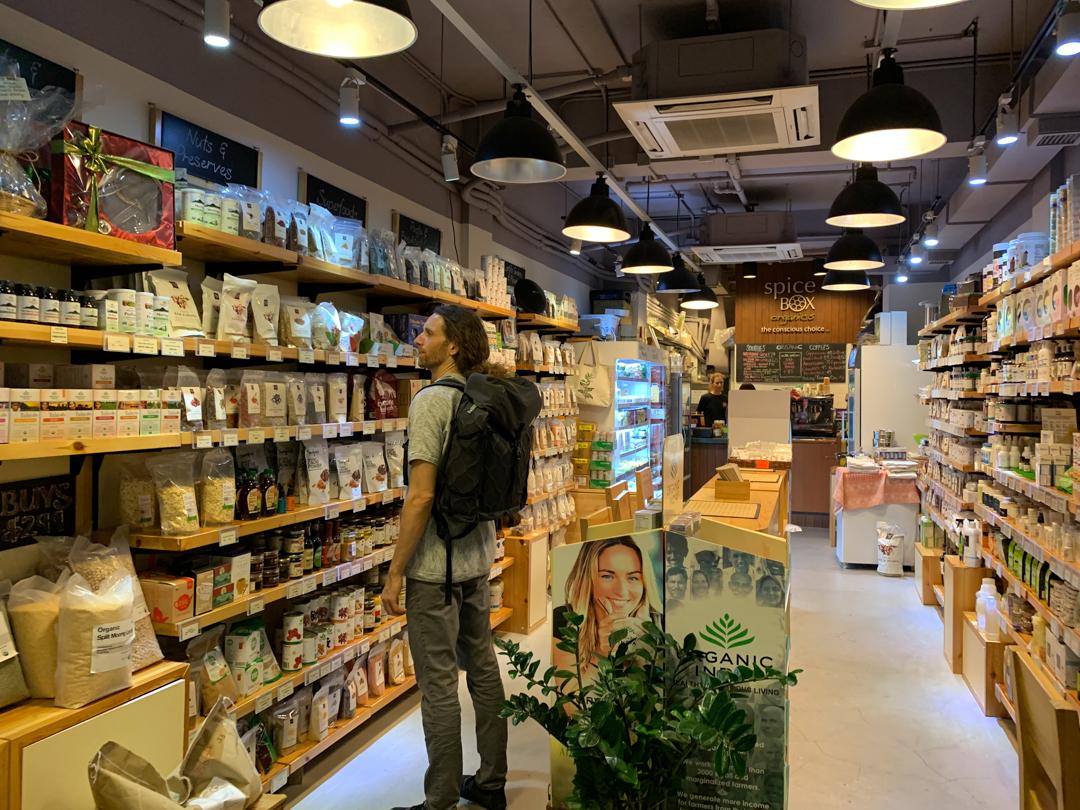Spice box organics hong kong