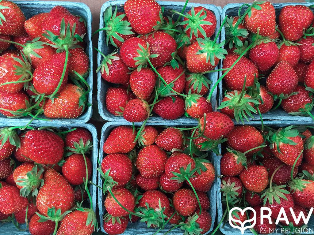 strawberries santa monica wednesday