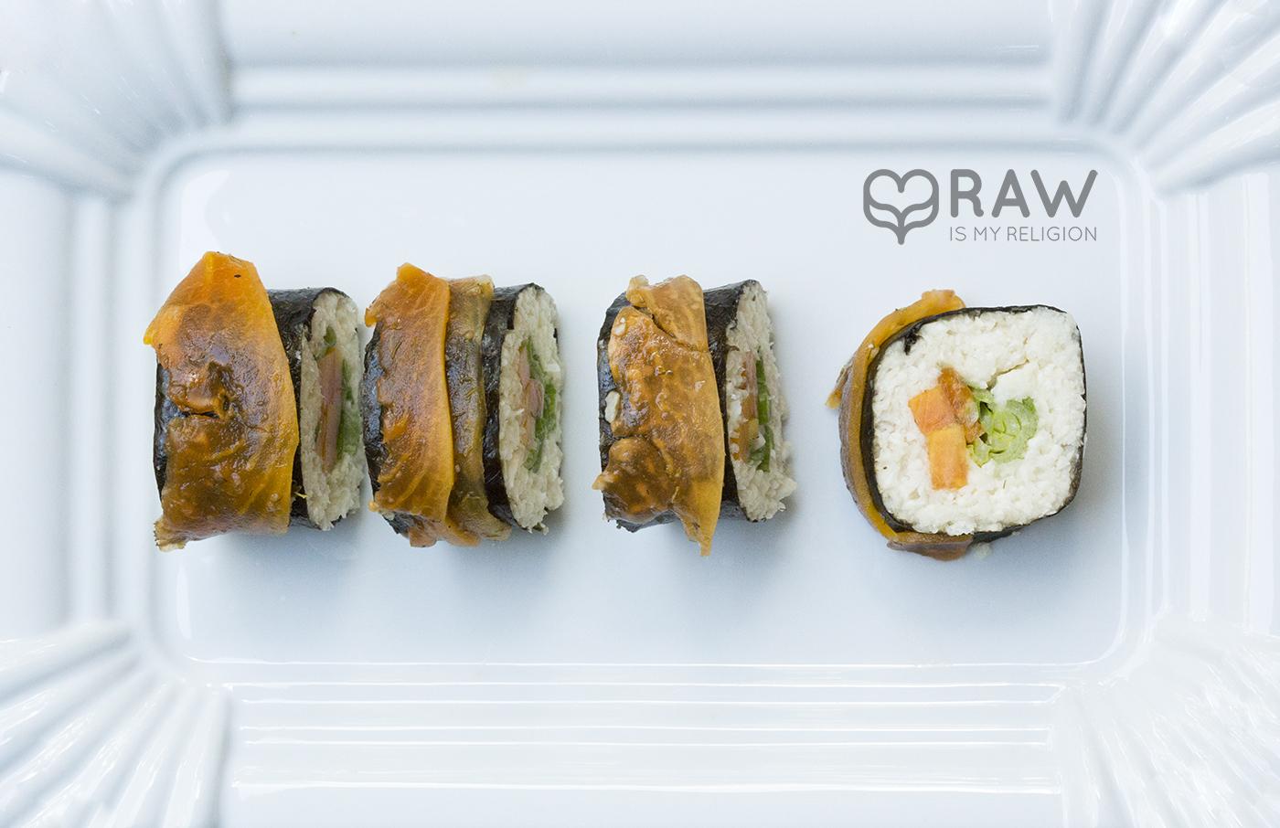 sushi lachs vegan