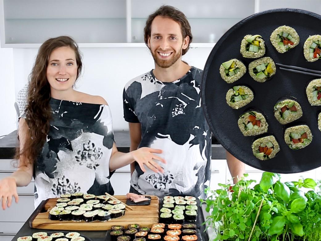 sushi mukbang rezept vegan rohkost kennenlernen daten