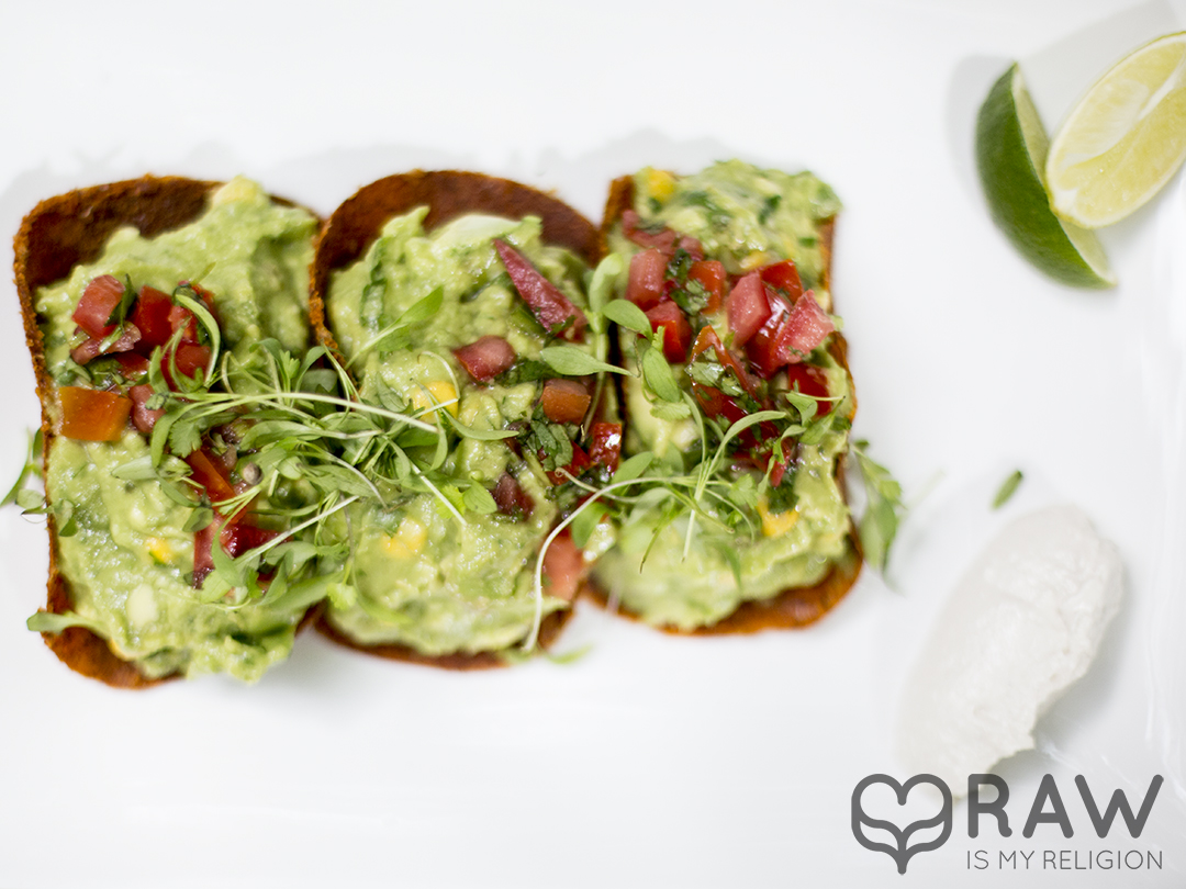 tacos guacamole pure food and wine nyc raw vegan copy