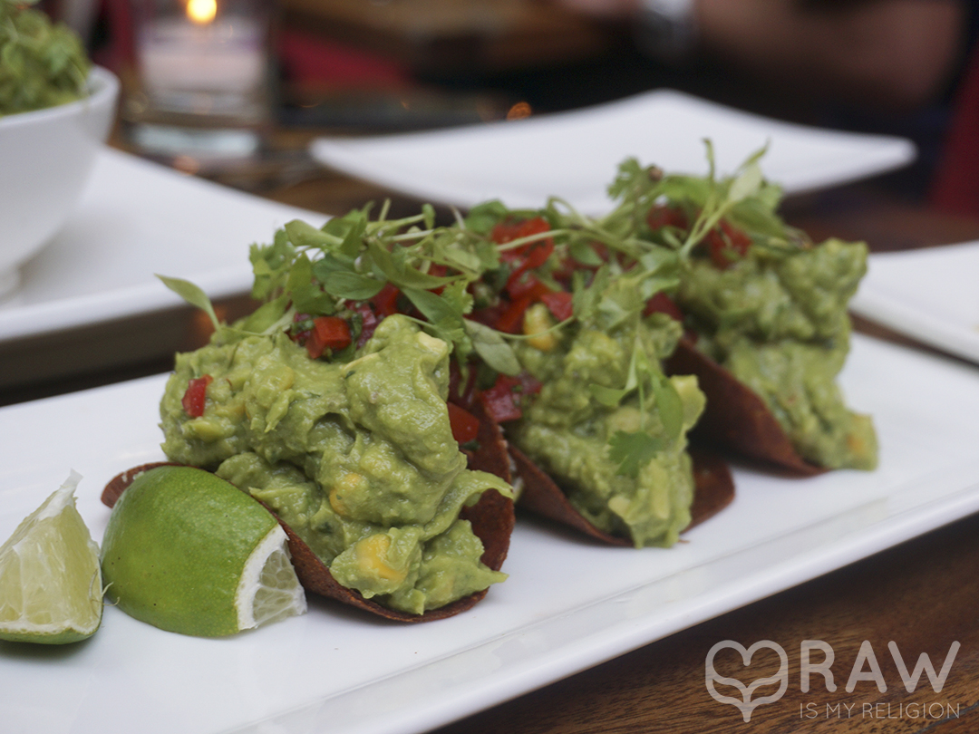 tacos pure food and wine nyc raw vegan