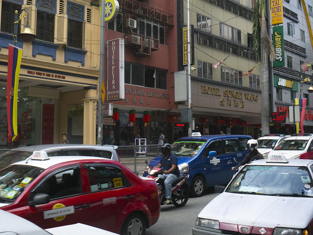 taxi getting around kuala lumpur malaysia