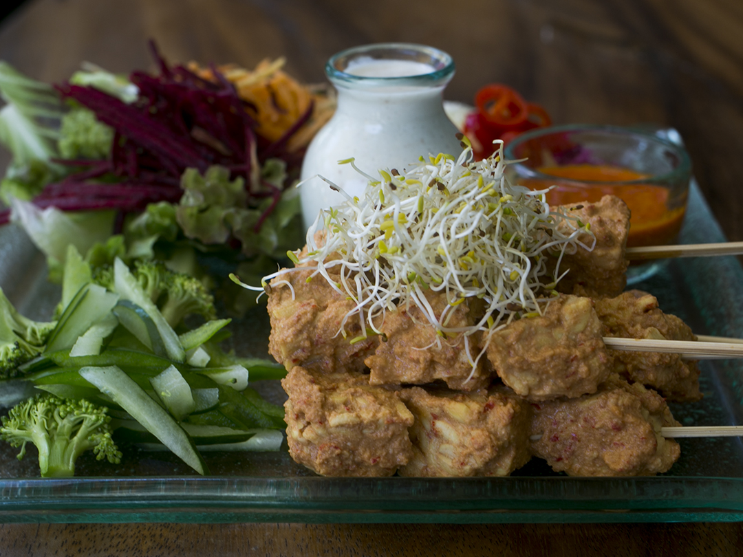 tempeh satey divine earth food
