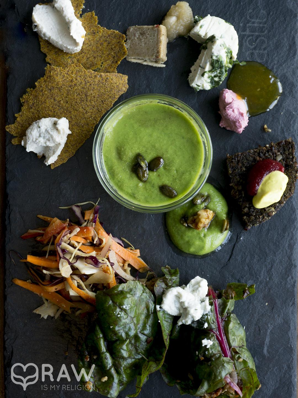 testing platter rawastic berlin raw vegan restaurant