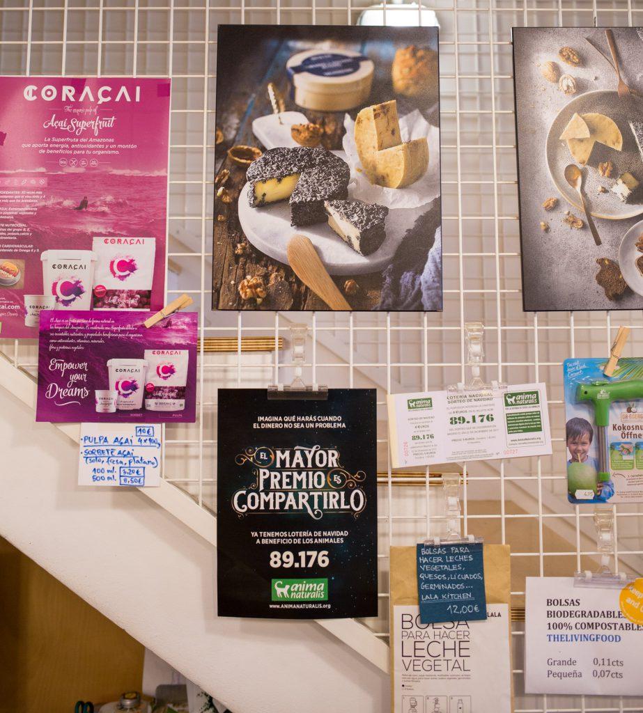 The Living Food Barcelona Shop.