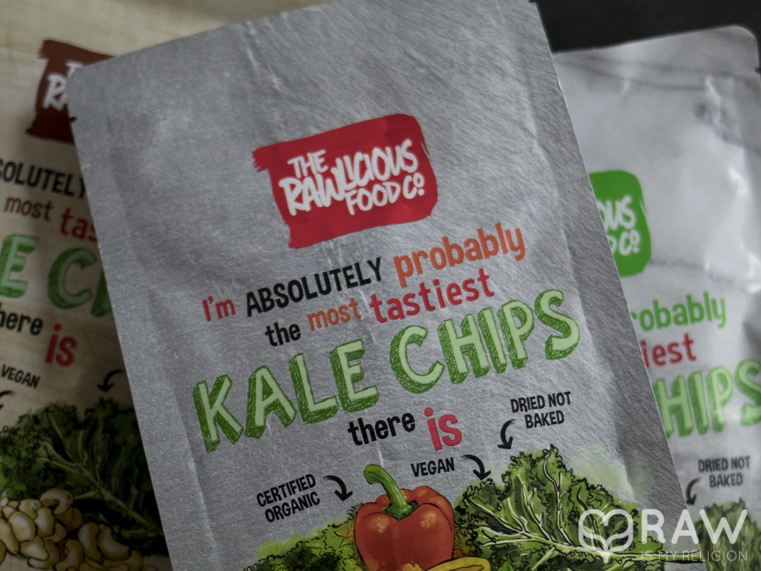 the rawlicious food kale chips
