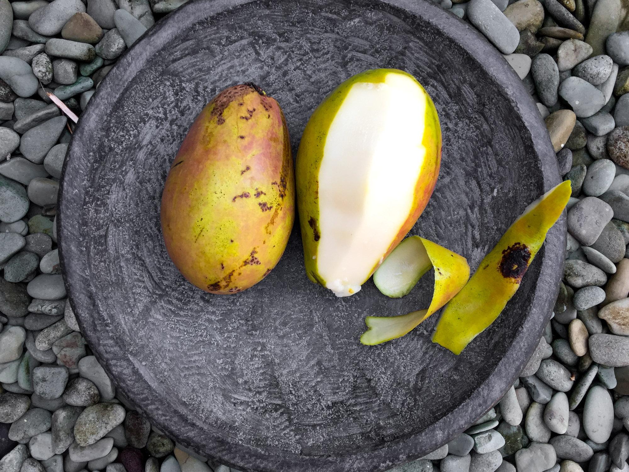 Weiße Mango