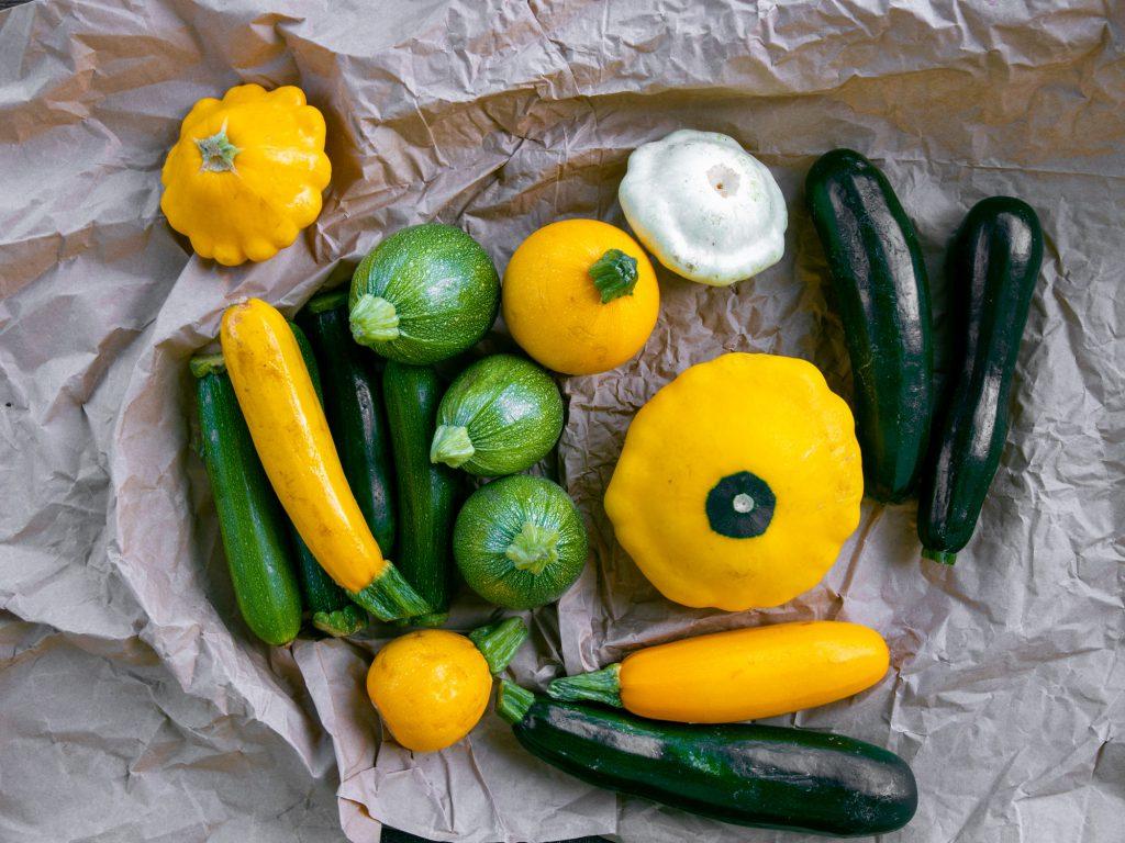 Rohkost Rezepte mit Bio-Zucchini.